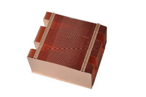 Copper Skived Fin Heatsink (HS-001) pictures & photos