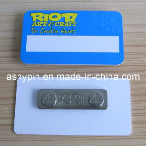 Plastic Magnet Name Tag (ASNY-NT-TM-149) pictures & photos