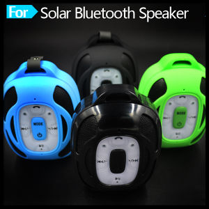 Mini Portable Wireless Solar Powered Setreo MP3 Bluetooth Speaker with USB pictures & photos