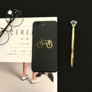 Gilding Printed Full Matte Soft TPU Shockproof Protective Case pictures & photos