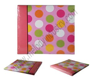 Fashion Dots Paper Cover Scrapbook Album/Photo Album/Scrapbook pictures & photos