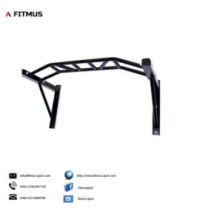 Chin up Bars Pull up Bar Ceiling Mount Wall Mounted DIP Bars Pull up Wall Mount Wall Mounted Bar Crossfit Pull up Bar Wall Mounted Pullup and DIP Bar Pull up pictures & photos