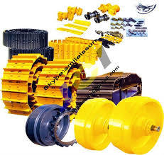 High Quality Track Roller. Track Roller Bulldozer Track Roller, Metal Track Roller