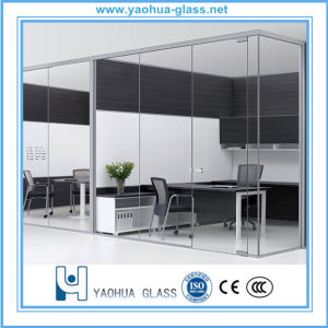 12mm Clear Toughened Safety Glass/Tempered Glass/Frosted Glass for Doors and Partitions