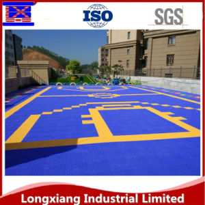 Custom Sports Flooring for Indoor Basketball/Tennis/Badminton and Volleyball Court pictures & photos