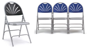 Fan-Back Folding Chair (KLY-A1)