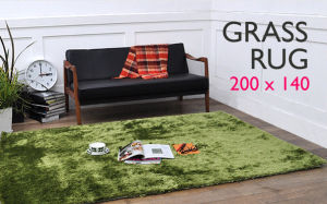 Bright Green Grass Rug/Tufted Carpet/Mat (200X140cm) , Oeko - Tex Standard 100 Certificated pictures & photos