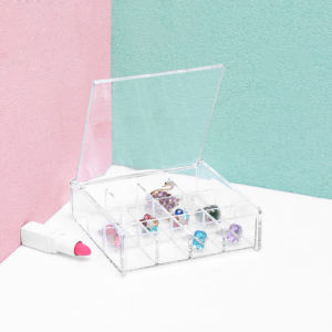 Acrylic DIY Loose Bead Parts Box, Jewelry Desktop Storage Box pictures & photos