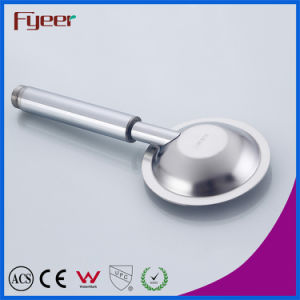 Fyeer 304 Stainless Steel Round Hand Shower Head pictures & photos