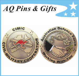 Military Coin in Antique Plating pictures & photos