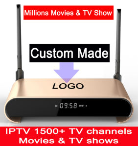 Custom Made Free IPTV 2GB 16GB SATA Hard Disk 2tb S912 Octacore 5g WiFi Android7.1 TV Box Watching Millions of Movies & TV Shows H2+ pictures & photos