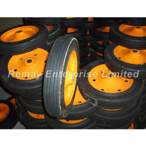 Rubber Solid Wheel (SR1320) pictures & photos
