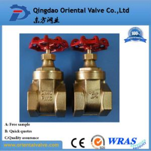 "UL, FM; Brass/Bronze 2"" Gate Valve with Pn16 Pressure pictures & photos"