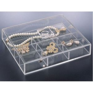 Customize Acrylic Mirror Jewelry Box pictures & photos