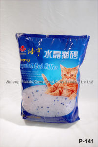 Stand up Cat Litter Bag with Clear Window pictures & photos