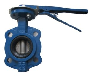 Marine Midline Butterfly Valve in Wafer Type pictures & photos