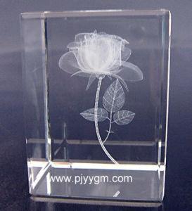 Crystal 3D Laser Cube (YYLA-054)
