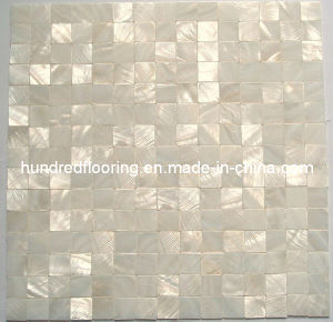White Mother of Pearl Shell Mosaic Tile (HMP69) pictures & photos