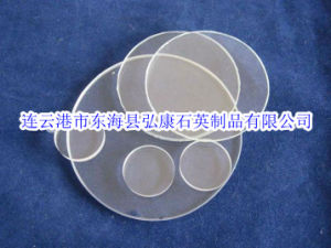 Clear Quartz Glass Sheet/Customize Quartz Wafer/Quartz Glass Piece pictures & photos
