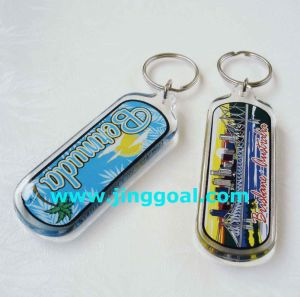 Acrylic Key Tag pictures & photos
