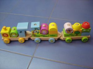 Wooden Toys - Wooden Train (ZYYB)