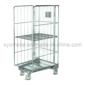 Classical 3 Sides a Frame Nestable Roll Pallet or Rolling Container (RC-04) pictures & photos