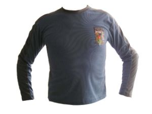 Long Sleeve Man Printed T Shirt With Logo Design-Poly Meshed Fabric pictures & photos