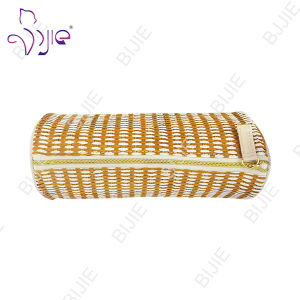Straw Mat Female Large Capacity Storage Cosmetic Bag pictures & photos