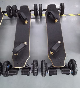 1650wx2 off-Road Scooter 4 Wheels Skateboard for Bulk pictures & photos
