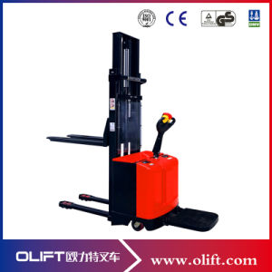 Low Price Good Quality Full Electric Stacker (1.0-2.0tons)