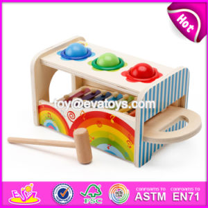 New Products Multi-Function Toy Wooden Musical Toys for Infants W07A117 pictures & photos