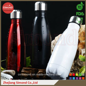 350ml 18/8 Stainless Steel Cola Bottle (SD-8007) pictures & photos