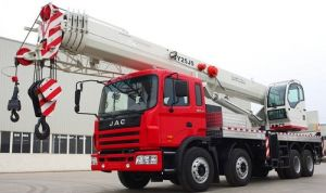 2017 Best Selling New Heavy Duty Mobile Crane 2 5 Ton Qy25j5 pictures & photos