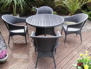 Wicker Patio Dining Set Outdoor Garden Rattan Furniture