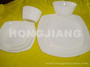 Bone China Dinner Set (HJ068005) pictures & photos