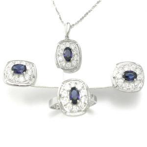 929 Sterling Gem Jewelry Set (TADA0001C)