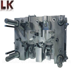 Complex Mechanical Slide Plastic Injection Mold for Blinker Levers