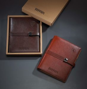 Leather Diary Cheap Price with Gift Box 2015 Year pictures & photos