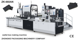 Manufacturer of Automated Box Making and Assembly Equipment pictures & photos