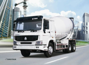 Cnhtc HOWO 8X4 Concrete Mixer Truck 12m3 Capacity pictures & photos