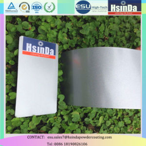 Customized High Gloss Metallic Effect Powder Ral 9006 Silver Spray Powder Coating pictures & photos