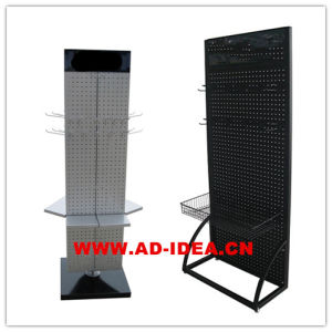 Wire Metal Display Racks Pegboard Display Stand pictures & photos