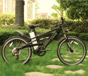 Full Suspension Electric Mountain Bike (JB-TDE05Z) pictures & photos