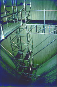 Boiler Scaffolding