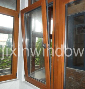 European Style Wood Aluminium Window