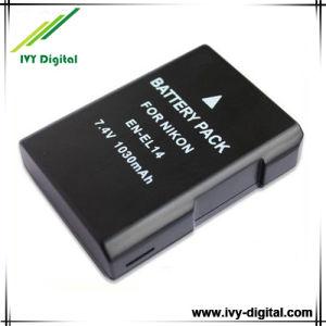 Decoded Camera Battery for Nikon En-EL14 Enel14 Coolpix P7000 P7100 D3100 D3200 D5100