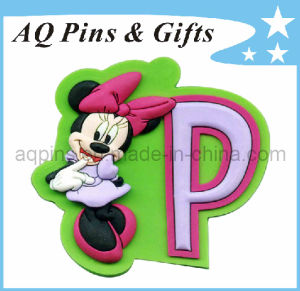 Hot Selling Cartoon Soft PVC Fridge Magnet (FM-02) pictures & photos