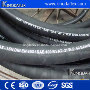 Rubber Hydraulic Hose (SAE R2at) pictures & photos