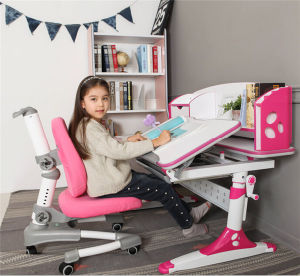 Ergonomic Kids Study Desk with Bookstand Study Table pictures & photos