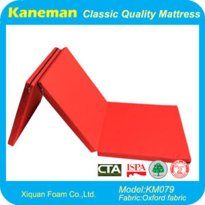 Single Size Waterproof Foldable Foam Mattress pictures & photos